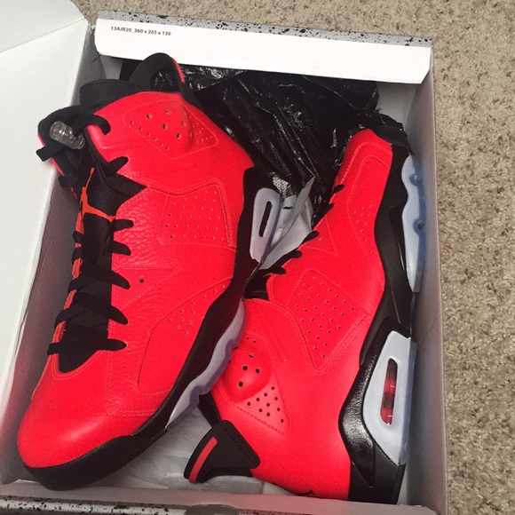 cheaper 0aaaf 83508 Air Jordan 6 Infrared 23